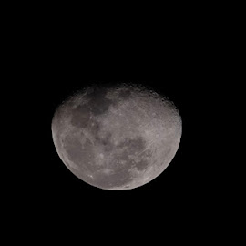 Our Moon 5th March 2018 by Beh Heng Long - Landscapes Starscapes ( moon )