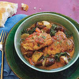 Portuguese-Style Chicken One-Pot.