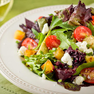 Hawaiian Goat Cheese and Vegetable Salad