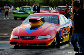 Photo: This colorful Mustang has a Reher-Morrison big block Chevy motor under its hood!