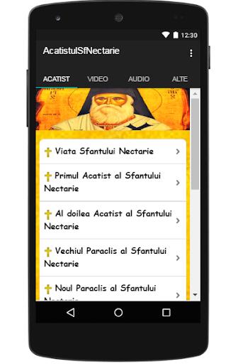 Acatistul Sf Nectarie 1.0 screenshots 1