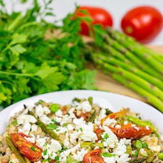 Farro and Wild Rice Salad