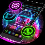 Neon Music Light Theme