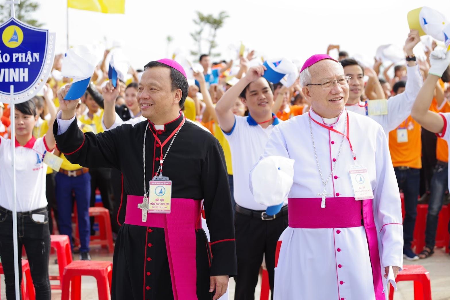 Những hình ảnh đẹp về lễ khai mạc Đại Hội Giới Trẻ giáo tỉnh Hà Nội lần thứ XV tại Thanh Hóa - Ảnh minh hoạ 19