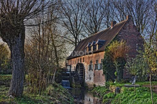 Medieval Flour Mill