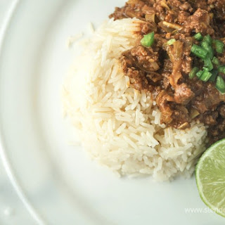 Sunday Slow Cooker: Thai Curry Ground Beef.