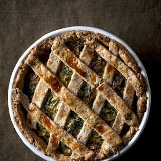 Spinach, Kale + Ricotta Pie