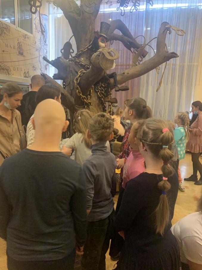 Посещение Тюменского театра кукол