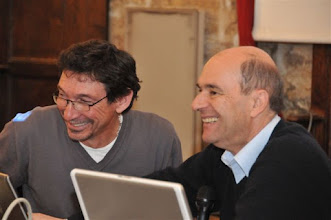 Photo: José Zirah (Délégué CISIC Languedoc-Roussillon) et le professeur Uziel (CHU Montpellier)