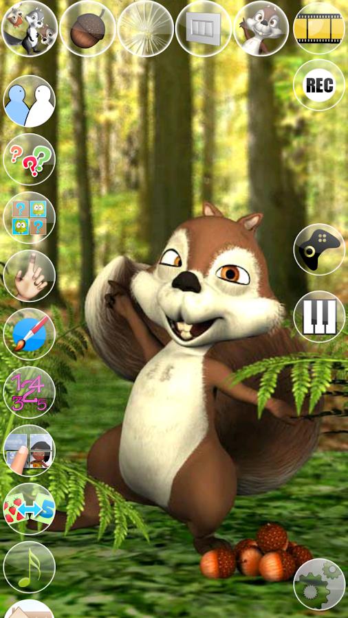 Talking James Squirrel - screenshot