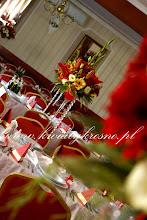 Photo: Dekoracja sali w królewskim stylu  - Dwór Ostoia