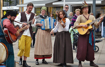 Photo: Frühneuzeitliche Musik erklingt...