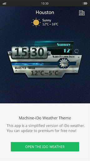 Machine - iDO Weather widget