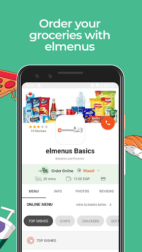elmenus - Discover & Order food 3.28.1 screenshots 4