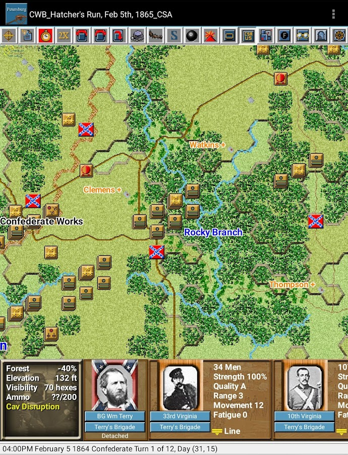 Civil War Battles - Petersburg- screenshot