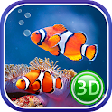 Coral Fish 3D Live Wallpaper icon