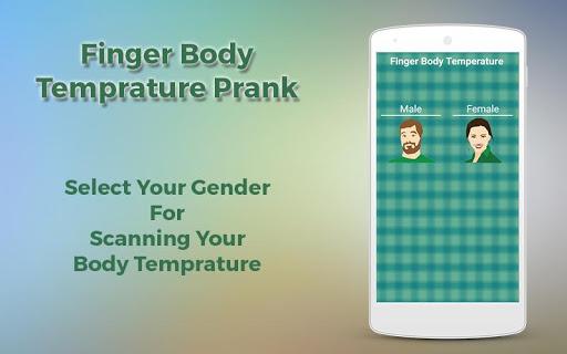 Finger Body Temprature Prank 1.0 screenshots 4