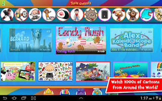 Screenshot of Toon Goggles Cartoons for Kids