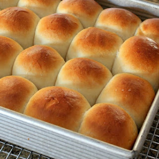 Southern Style Butter Yeast Rolls.