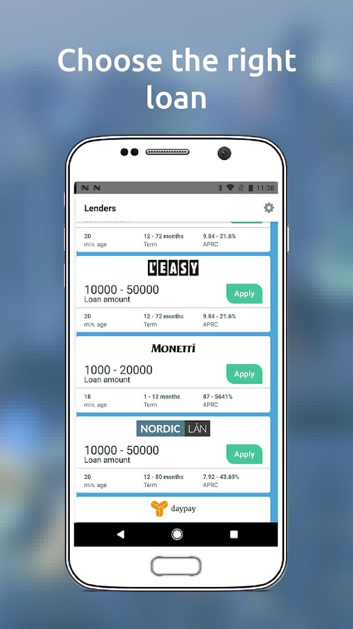 Day1 Finance - payday loans- screenshot