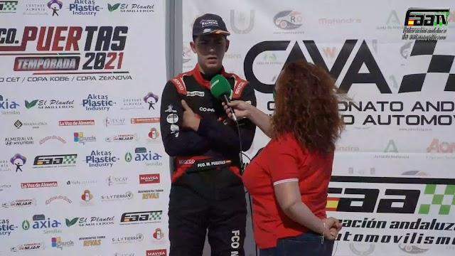 Entrevistado por la televisión andaluza