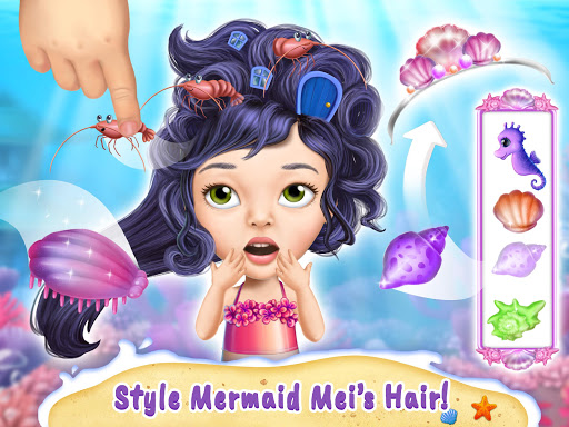 Sweet Baby Girl Mermaid Life - Magical Ocean World 4.0.1 screenshots 8