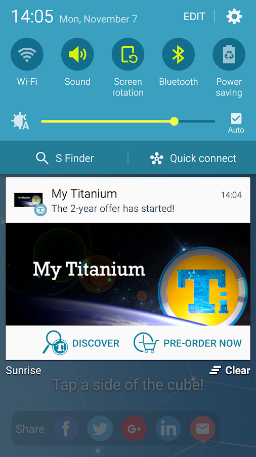 My Titanium- screenshot