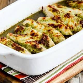 Baked Pesto Chicken Recipes.