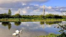 Pont Normandie - самый длинный подвесной мост Европы