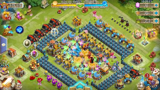 Castle Clashuff1au30aeu30ebu30c9u30edu30a4u30e4u30eb 1.6.6 screenshots 6
