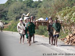 Photo: Etiopská pohotovost! / Ethiopian ambulance!