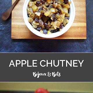 Warm Apple Chutney