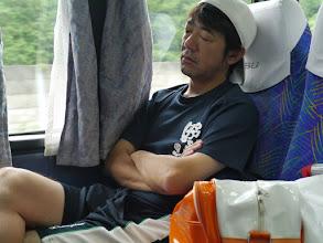 Photo: 寝ています(笑)