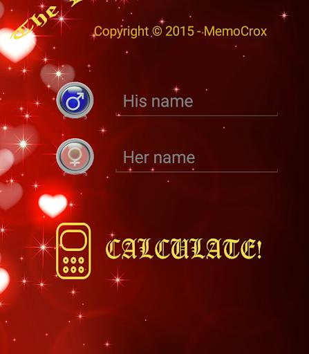 Love Calculator - Memo Edition