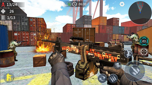 Encounter Terrorist Strike: FPS Gun Shooting 2020  screenshots 14