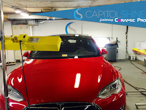 Photo: Capitol Shine's Ceramic Pro Paint Protection