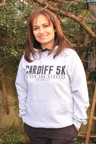 Cardiff 5K - Race Race For Victory Hoodie
