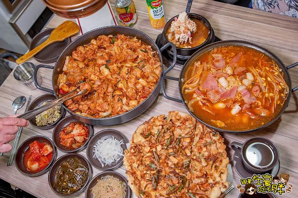韓屋里 高雄韓式料理推薦 雙鍋來襲!香炒辣雞鍋+酸甜部隊鍋非吃不可~
