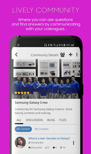 Screenshot for Samsung Plus Mobile in Hong Kong Play Store
