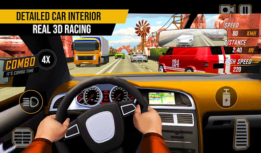 Racing in Highway Car 2018: City Traffic Top Racer 1.1.4 screenshots 1
