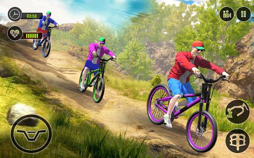 Offroad BMX Rider: Mountain Bike Game 1.0.23 screenshots 2