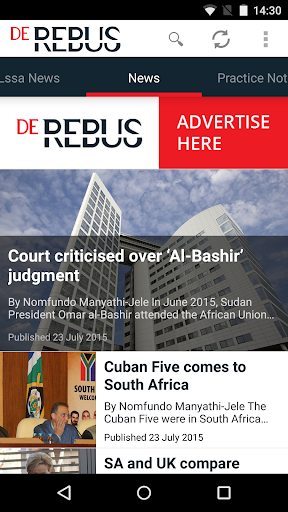 De Rebus SA attorneys journal