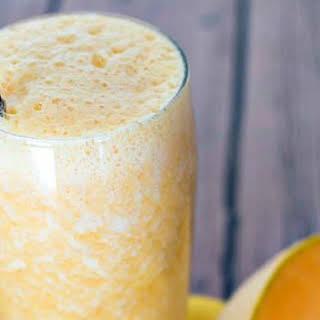 Cantaloupe Orange Smoothie.