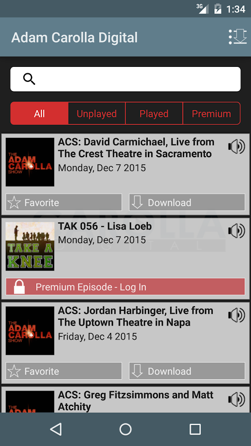 The Adam Carolla Show- screenshot