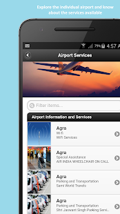 Airseva - A Simple Airline Information App - náhled