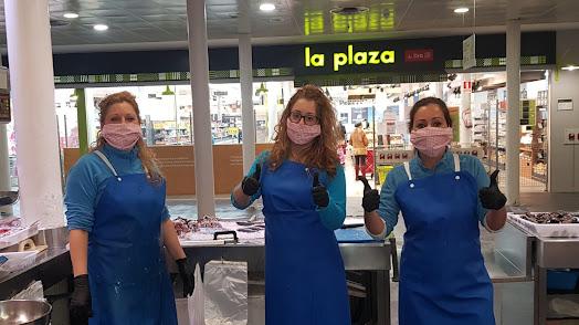 El equipo de Hijas de JuanMorato, formado por Loreto, Maribel y Lydia.