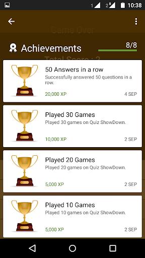 玩免費益智APP|下載Quiz Showdown app不用錢|硬是要APP