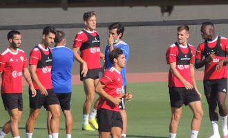 Entrenamiento del Almería (18 de julio)