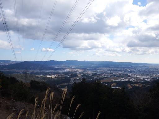 静岡県県境の山