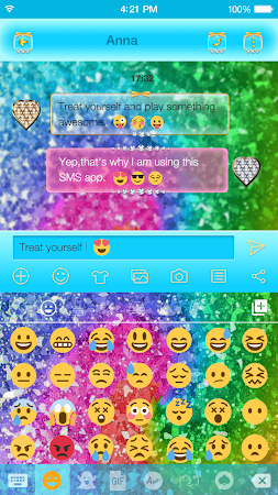 Flash Star Emoji Keyboard 1.0.2 screenshot 2086990